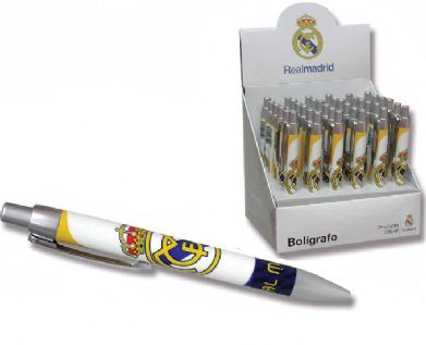 BOLÍGRAFO REAL MADRID