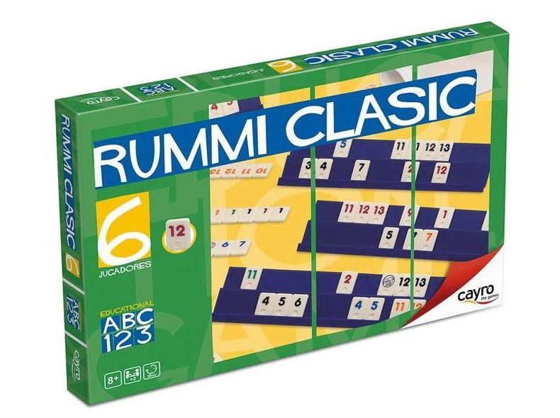 Rummi classic 6 jugadores. Cayro