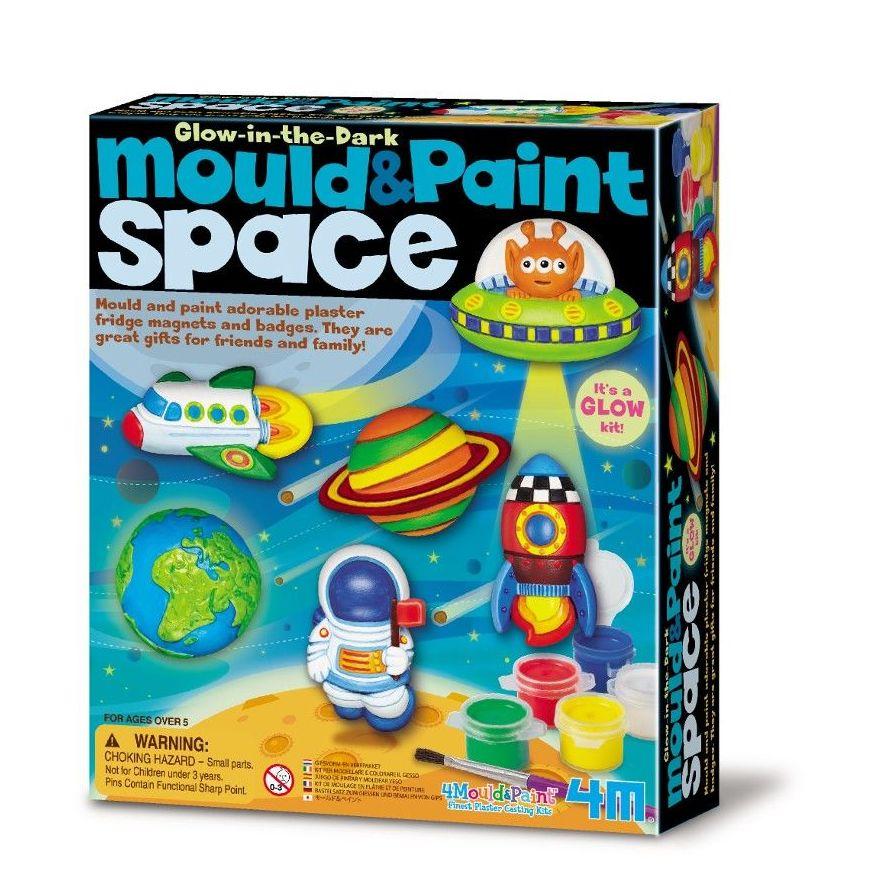 Moldea y pinta personajes espaciales para nevera