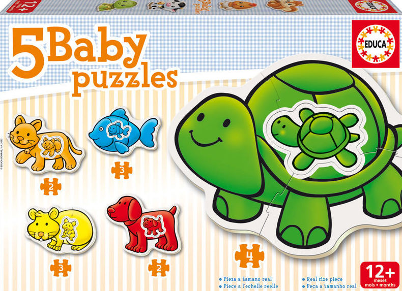 BABY PUZZLES ANIMALES. EDUCA