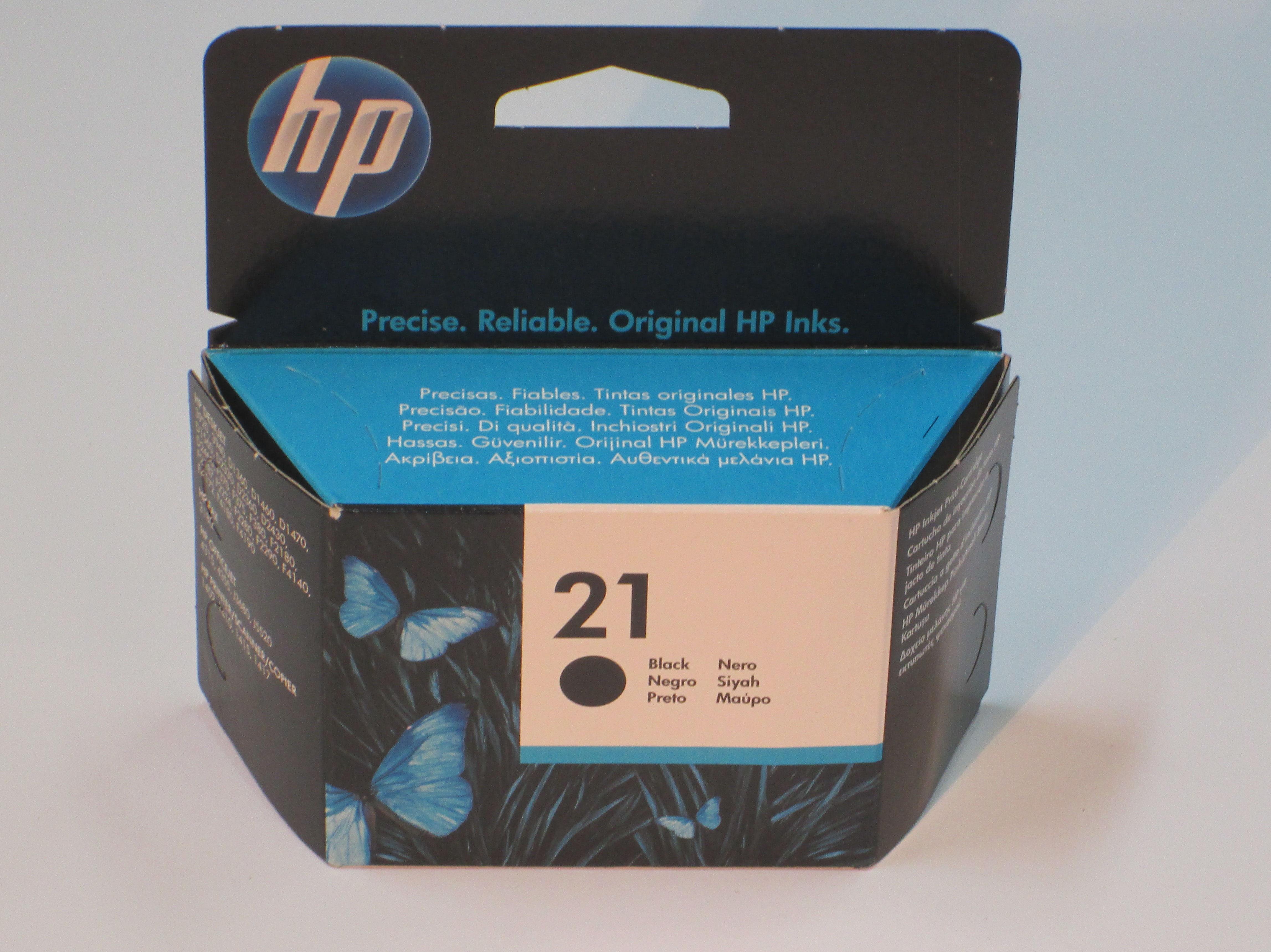 Cartucho HP 21