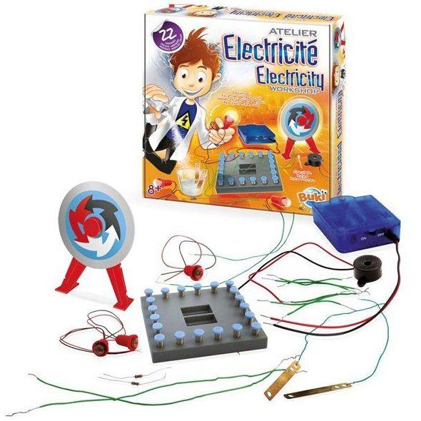 Talle de electricidad para que experimentes y aprendas