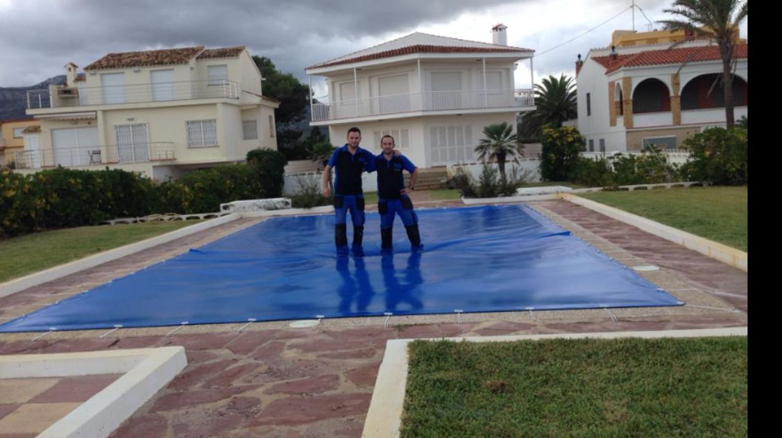 Cubiertas para piscinas : PRODUCTOS  de Mk Toldos
