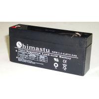 Batería plomo 6V 3,3Ah 34,3x135x60,7mm