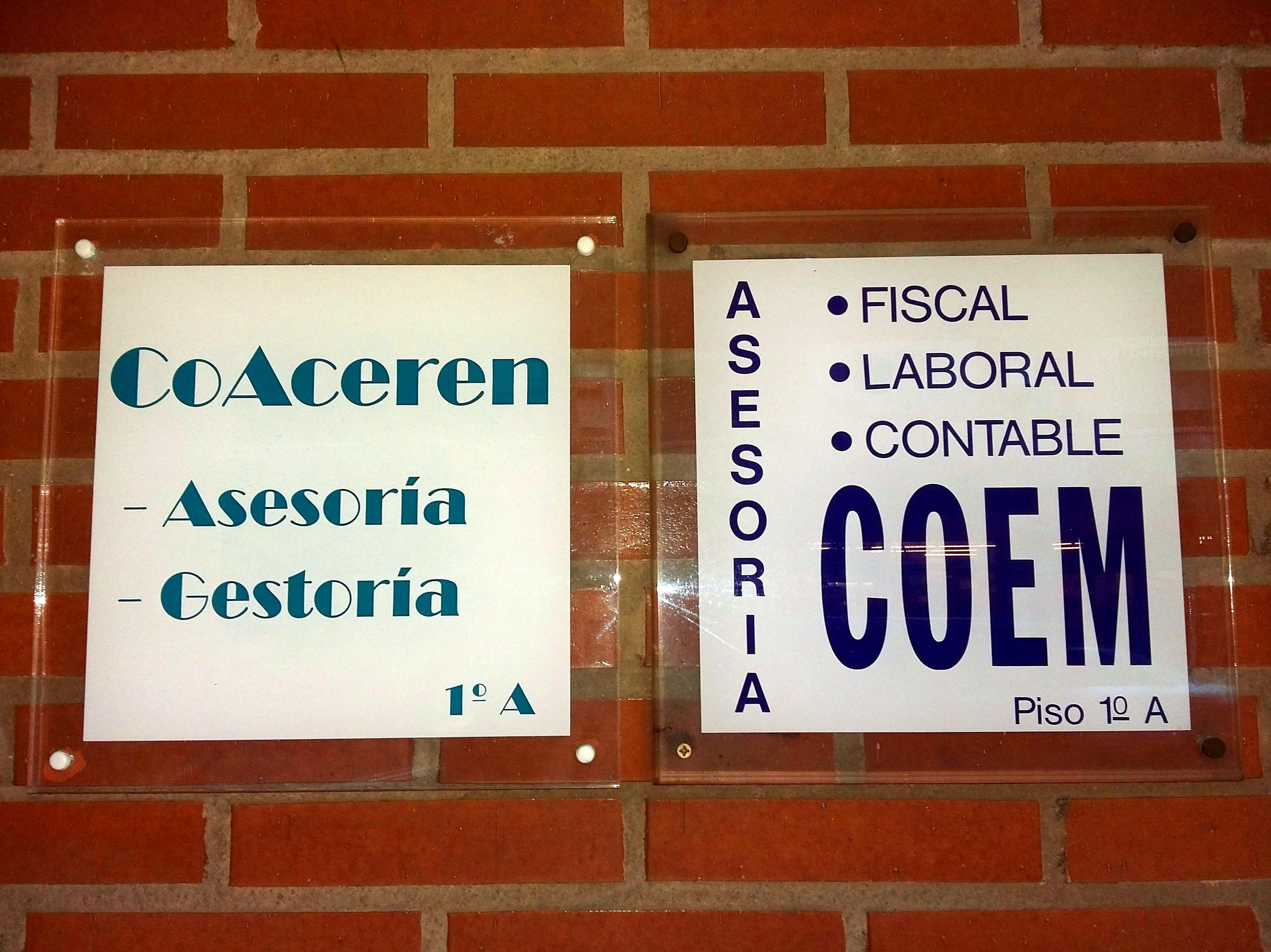 Foto 15 de Asesorías de empresa en Logroño | Asesoría Coem 90 - Asesoría Coaceren