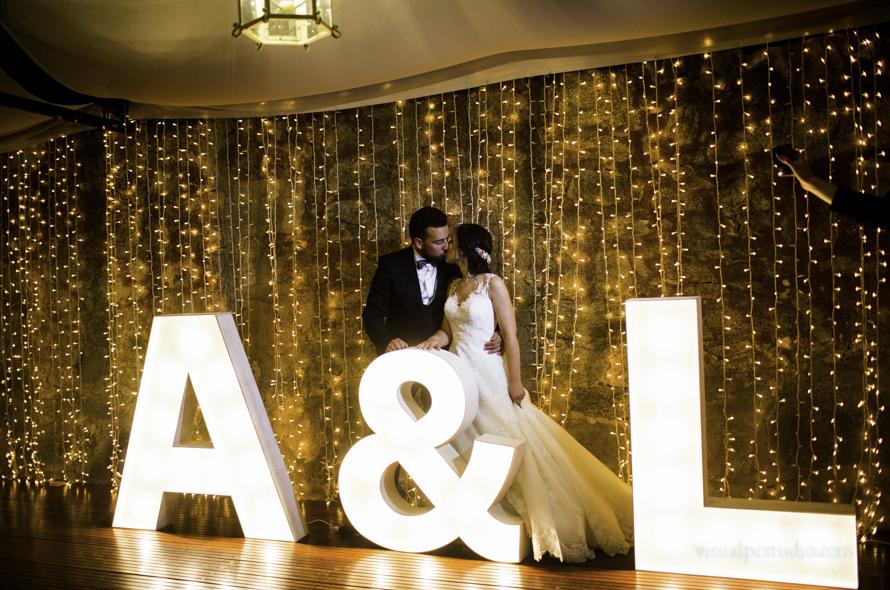 Letras luminosas bodas Pontevedra