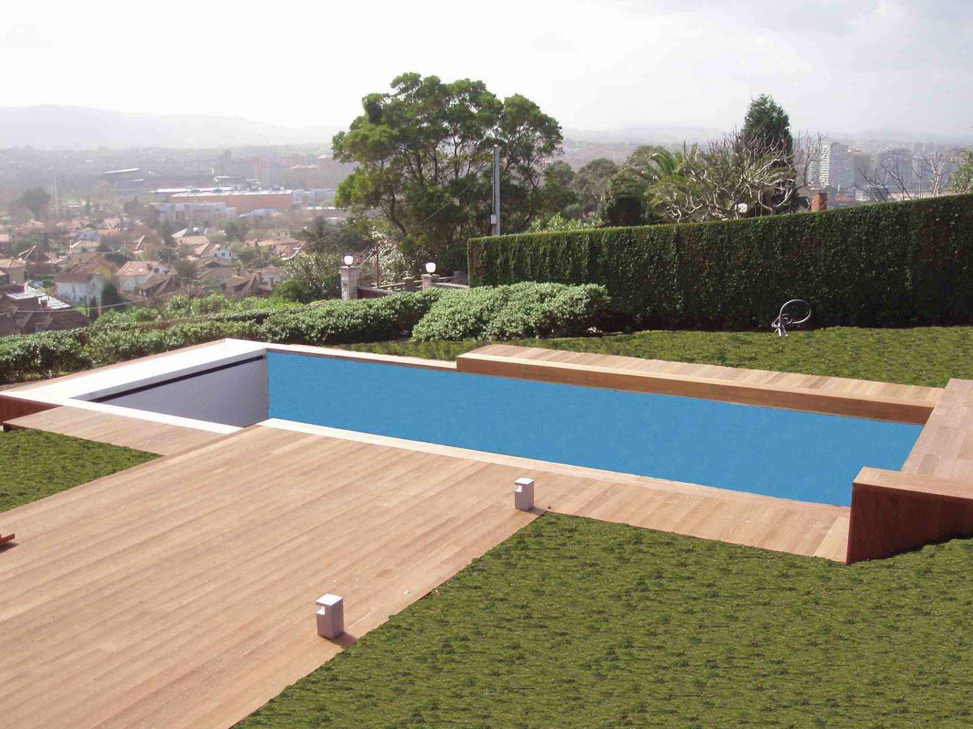 piscina TARIMA EXTERIORES ASTURIAS