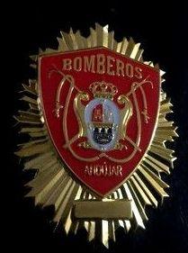 PLACA INSIGNIA BOMBEROS DE ANDUJAR