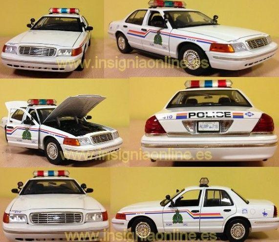 COCHE POLICIA CANADA