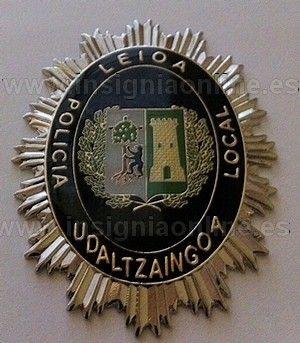 PLACA DE POLICIA LOCAL