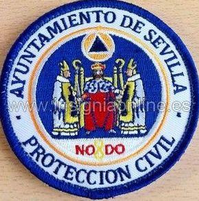 EMBLEMA BORDADO PROTECCION CIVIL AYUNTAMIENTO DE SEVILLA