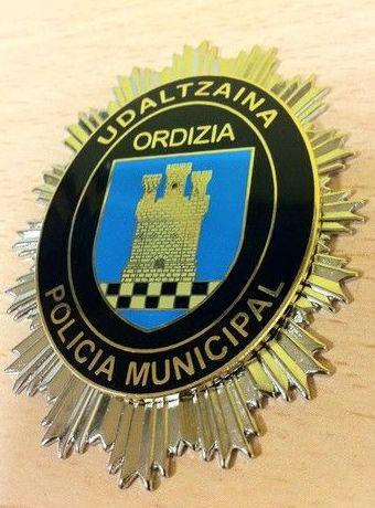 PLACA POLICIA ORDIZIA