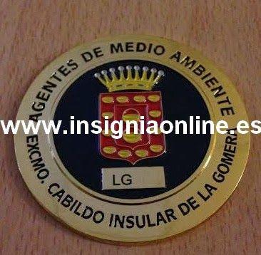 INSIGNIA PROFESIONAL DE AGENTE DE MEDIO AMBIENTE