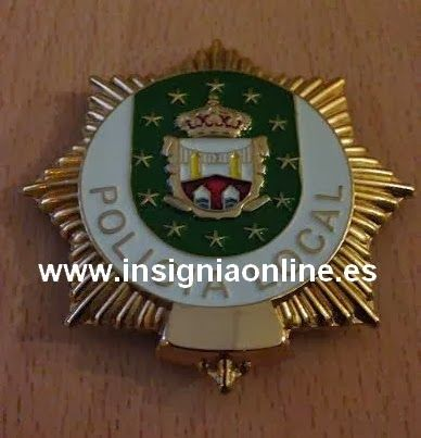 PLACA INSIGNIA POLICIA LOCAL CANTABRIA