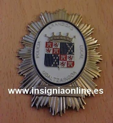 PLACA INSIGNIA POLICIA LOCAL ERANDIO