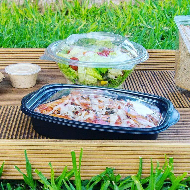 Plásticos para alimentos de restaurante