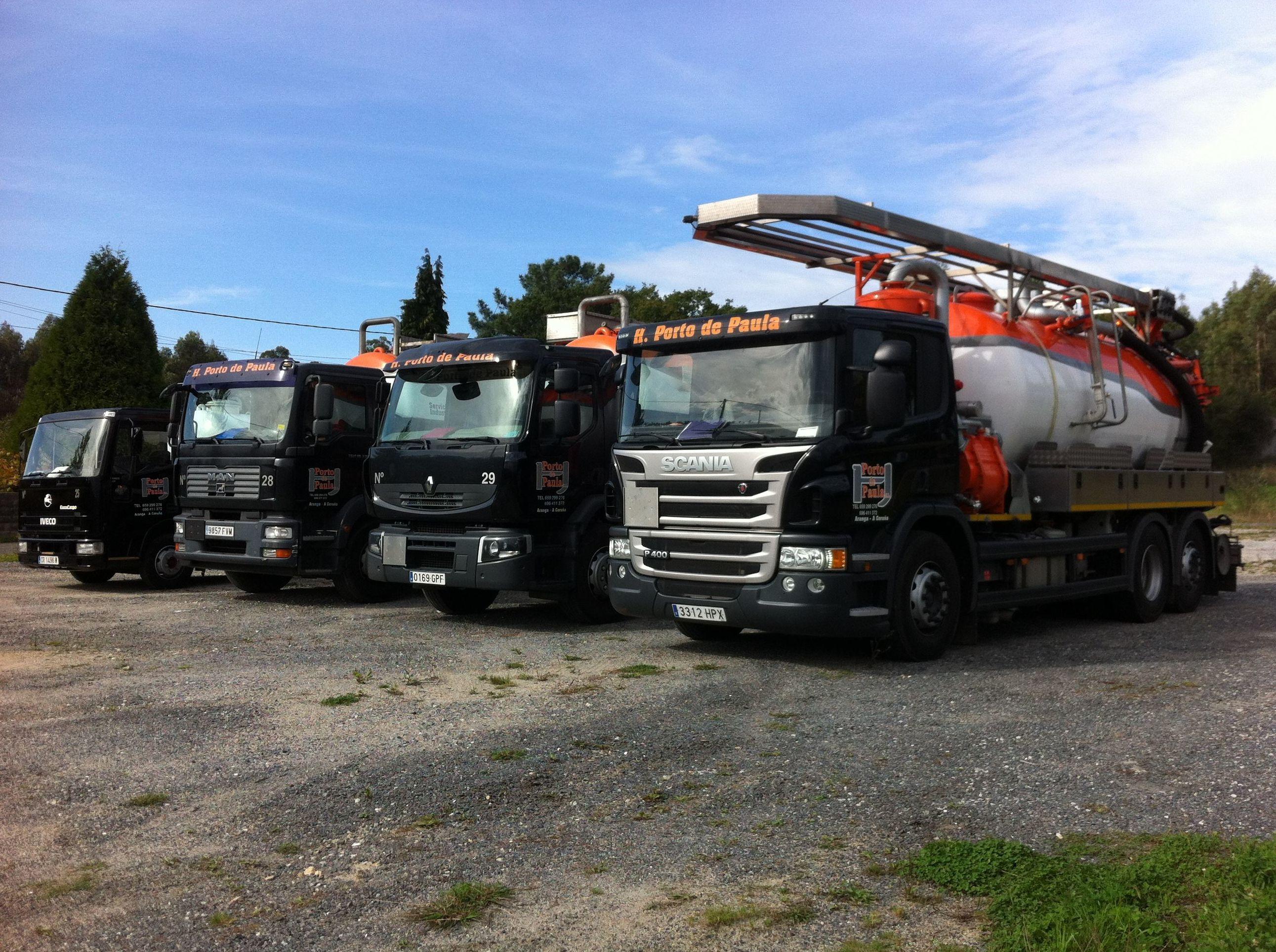 Foto 18 de Limpiezas industriales en Aranga | Hermanos Porto de Paula