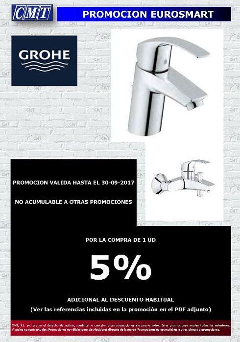 Promoción Eurosmart GROHE