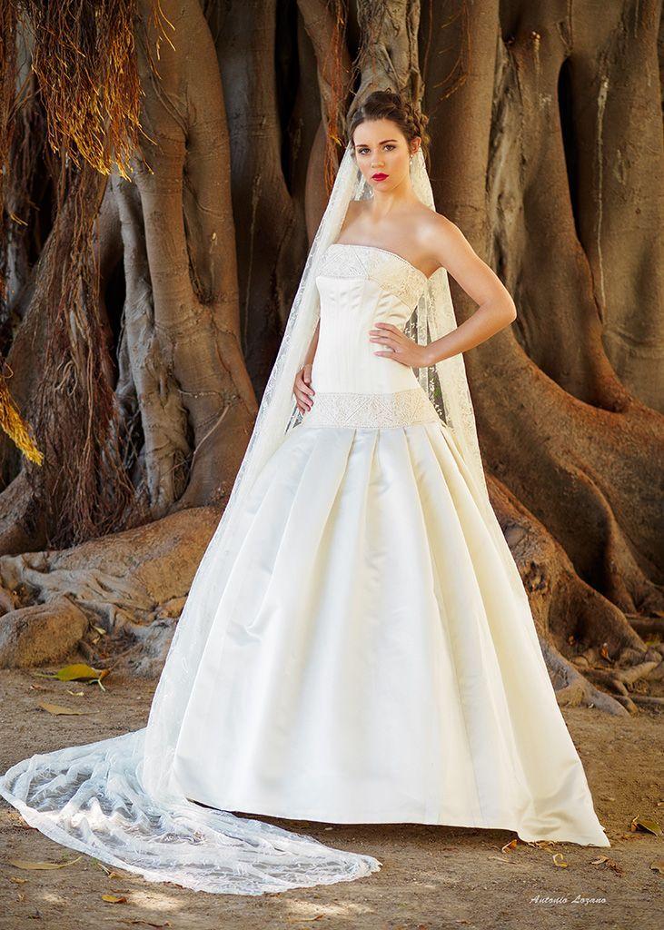 Confección a medida de vestidos de novia