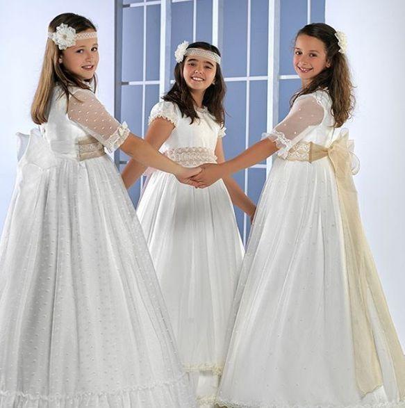 Vestidos de comunión para niñas en Alicante
