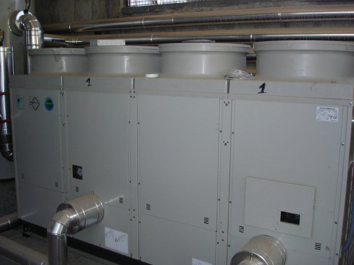 Instalaciones industriales de climatización