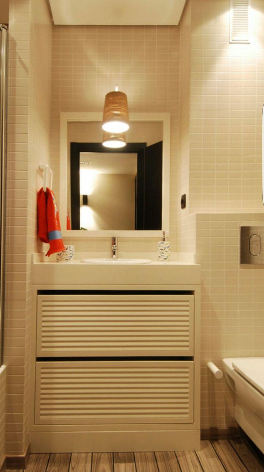 Mueble lavabo lacado