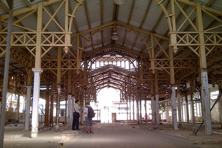 Restauración del interior de edificios