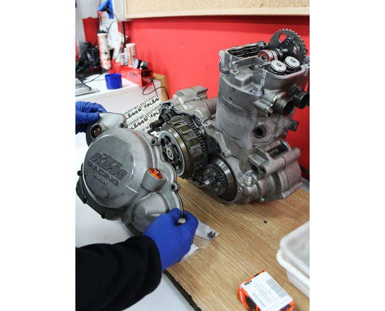 Preparación de motores de moto en Vigo