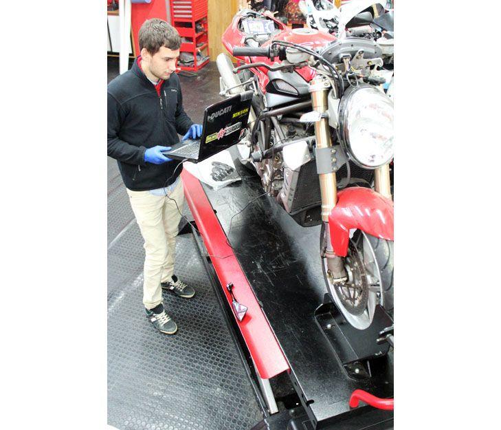 Diagnosis de motos en Vigo