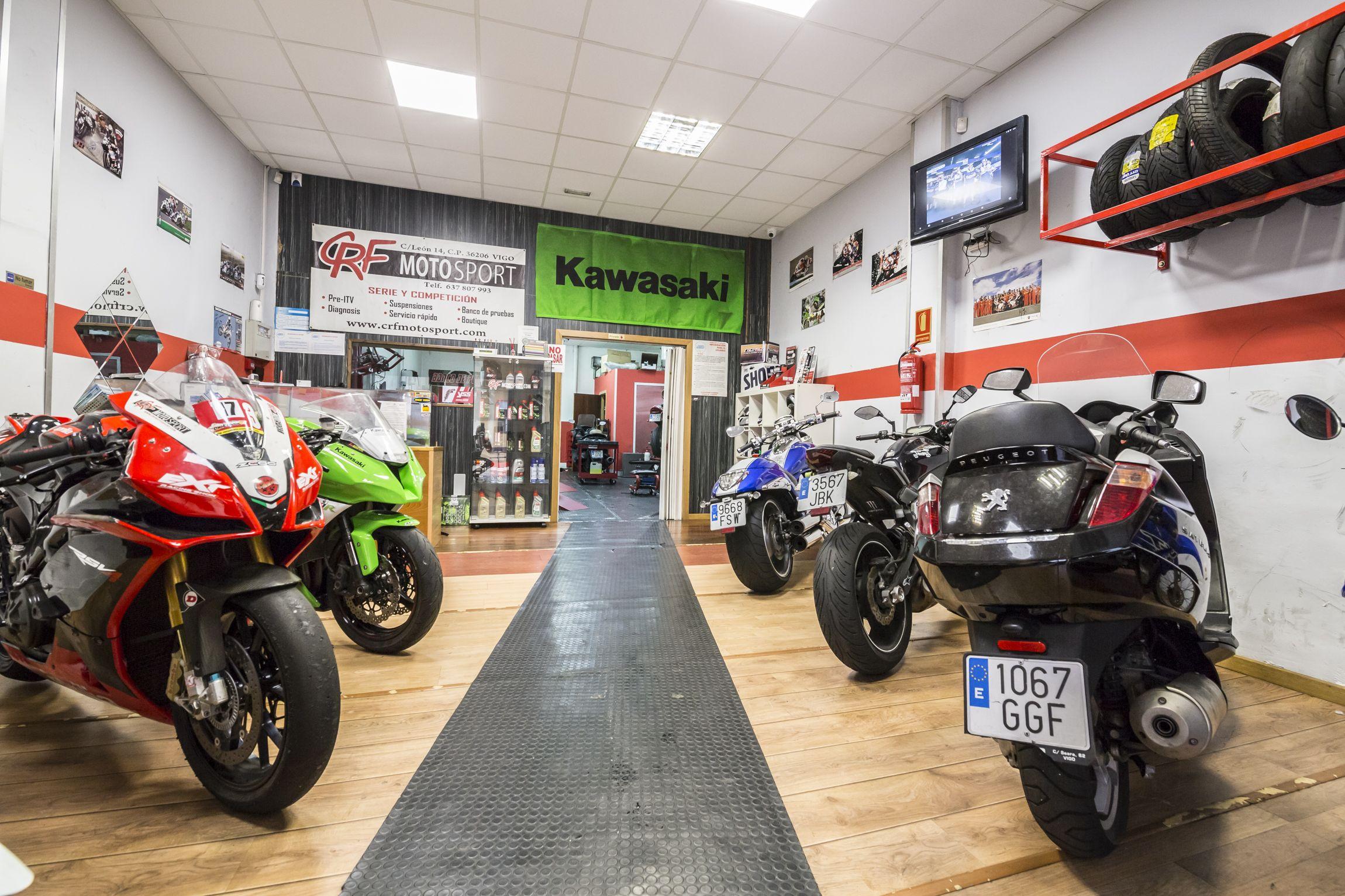 Pre ITV de motos en Vigo