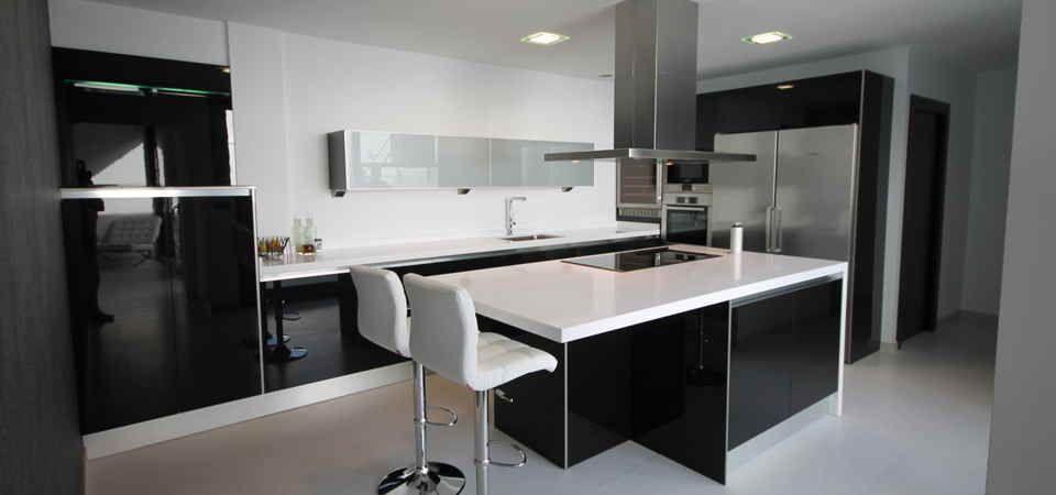Cocina modelo Iris 5 negro