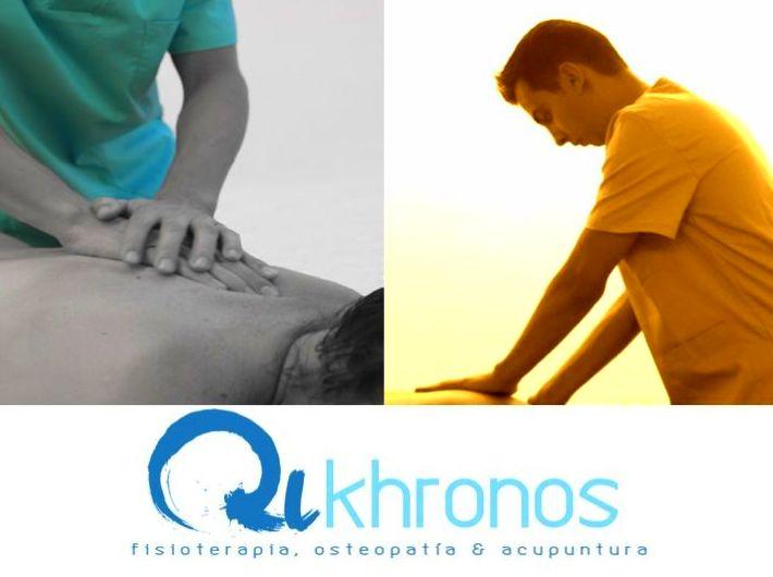 QUIROMASAJE TERAPEUTICO, MASAJE TERAPEUTICO O MASOTERAPIA: Tratamientos of Qikhronos - Fisioterapia, Osteopatía y Acupuntura
