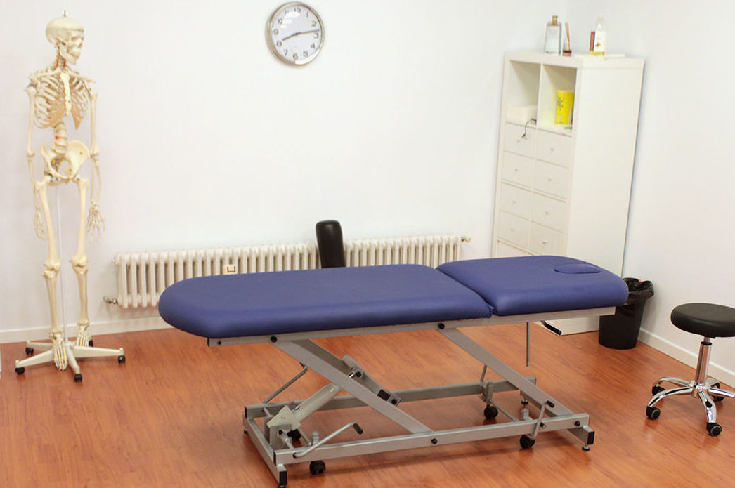 Clínica de fisioterapia en el barrio de Chamberí (Madrid)