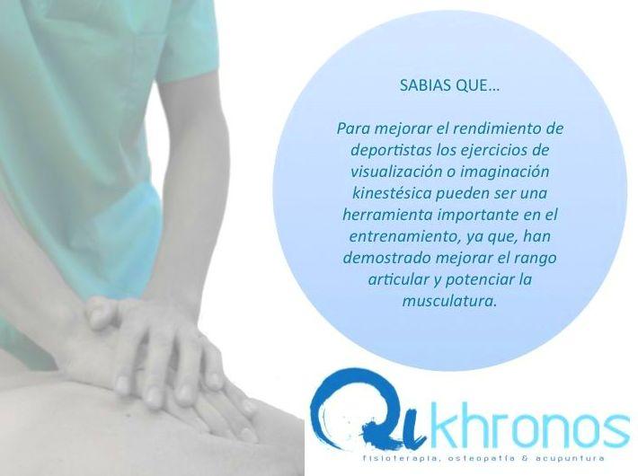 Foto 3 de Fisioterapia  en Madrid   Qikhronos - Fisioterapia, Osteopatía y Acupuntura