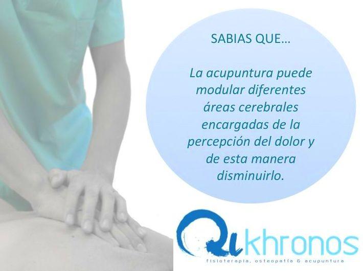 Foto 4 de Fisioterapia  en Madrid | Qikhronos - Fisioterapia, Osteopatía y Acupuntura
