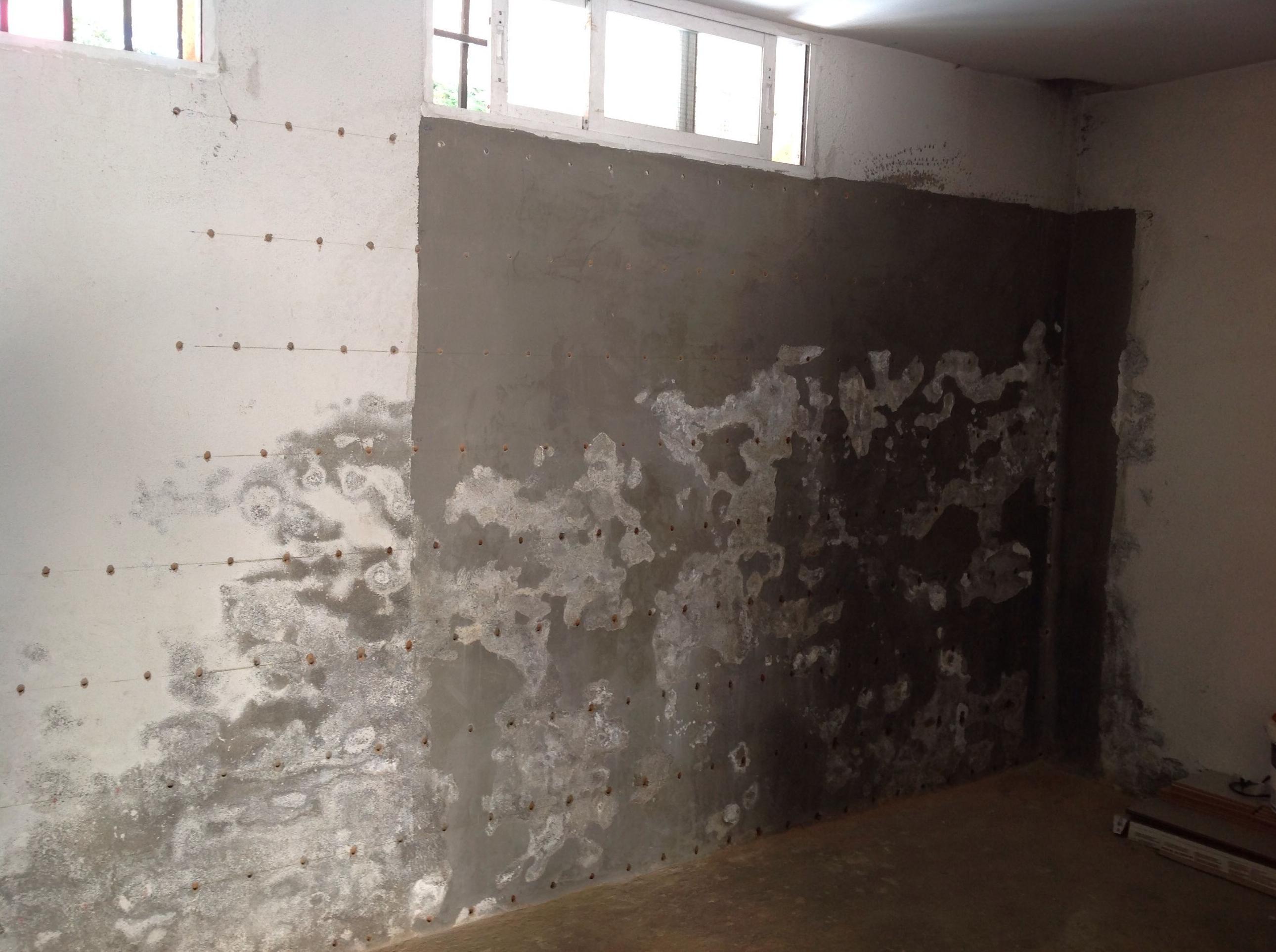 Tratamiento de humedades en sótanos