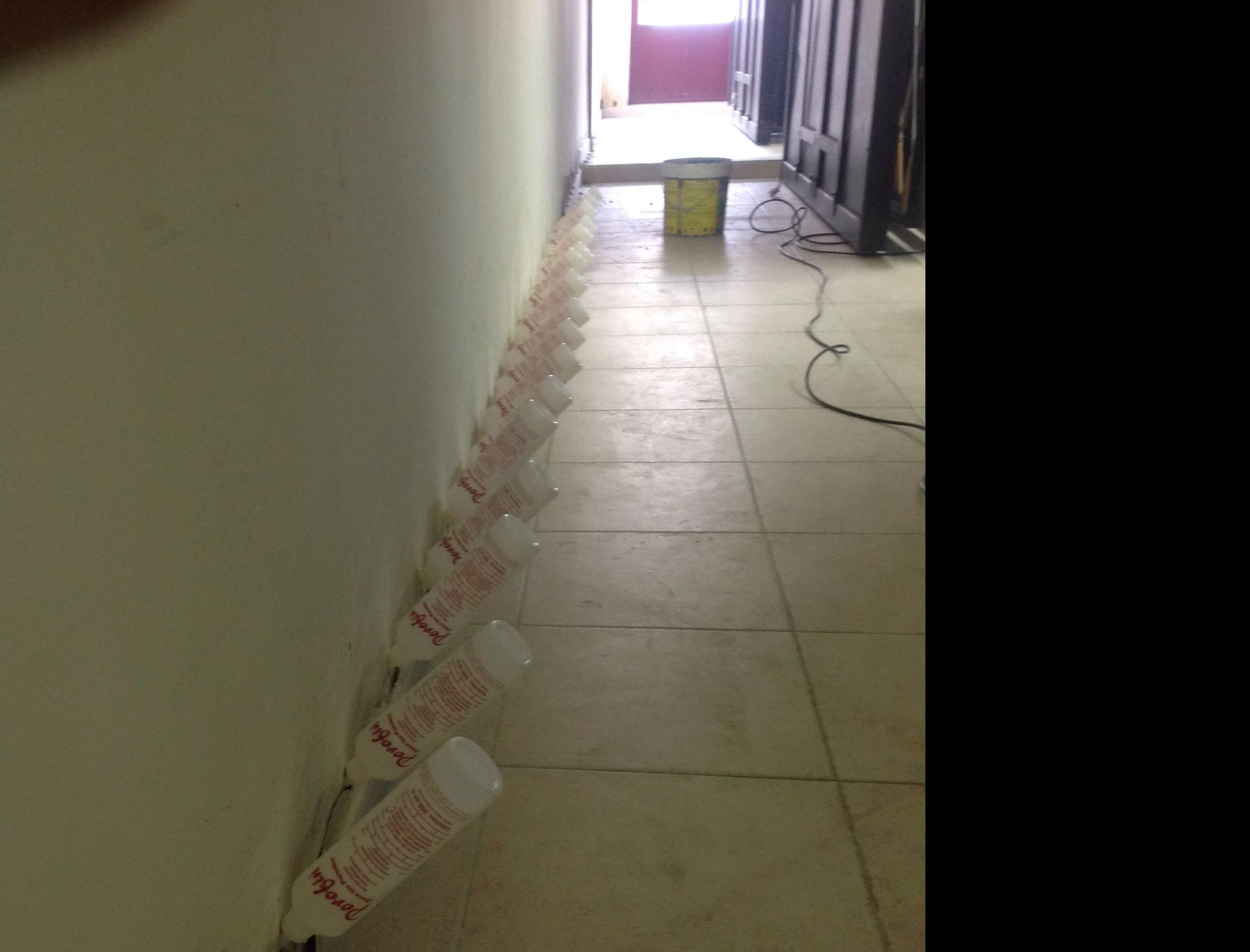 Quitar humedades en paredes