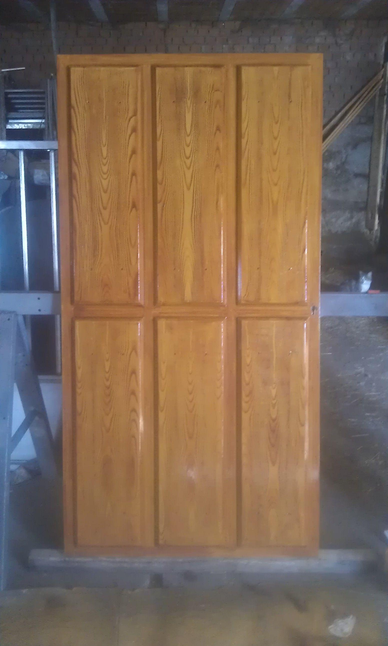 Puertas imitación a madera en avila