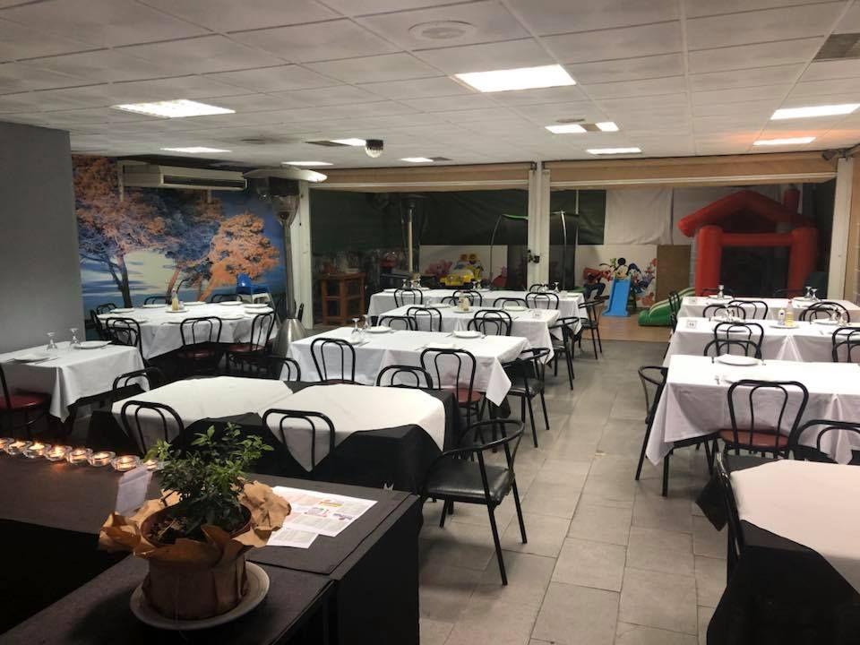 Restaurante con zona para niños en Murcia