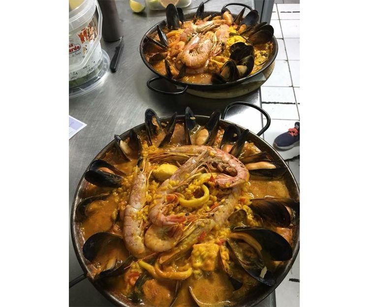Sea food restaurant in Arona