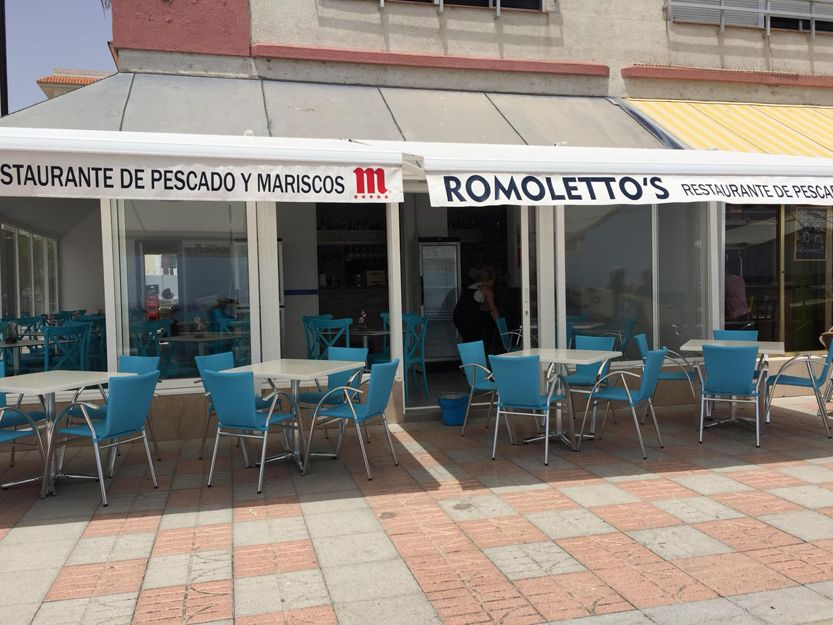 Sea food restaurant in Arona