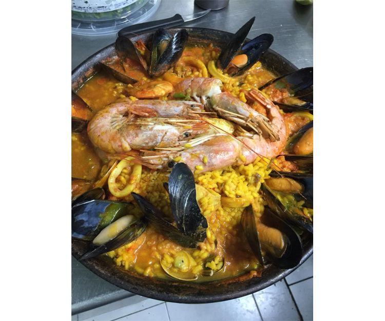 Restaurante de pescados y mariscos en Arona