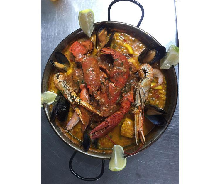 Restaurant specialising in fish in Tenerife