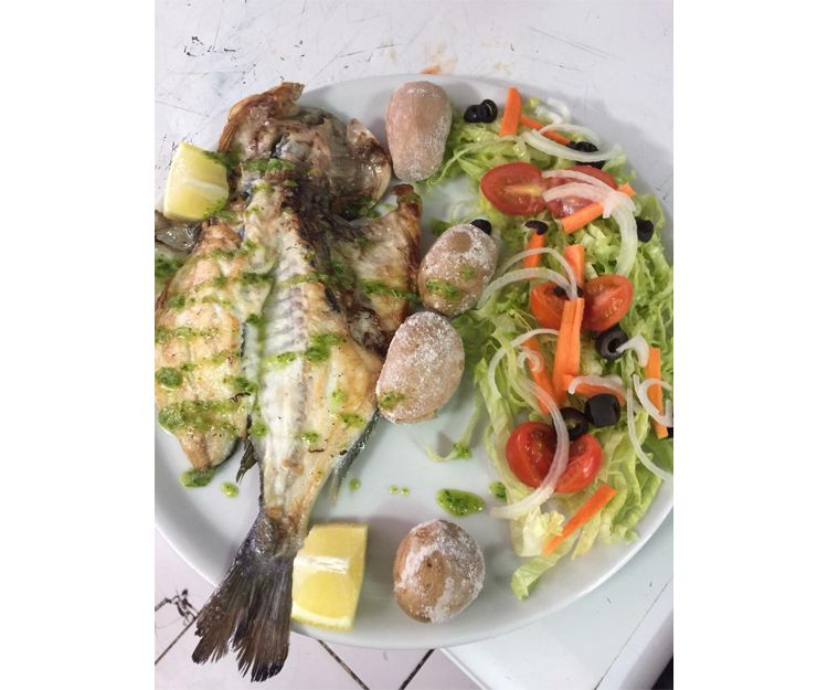 Sea food restaurant in Tenerife