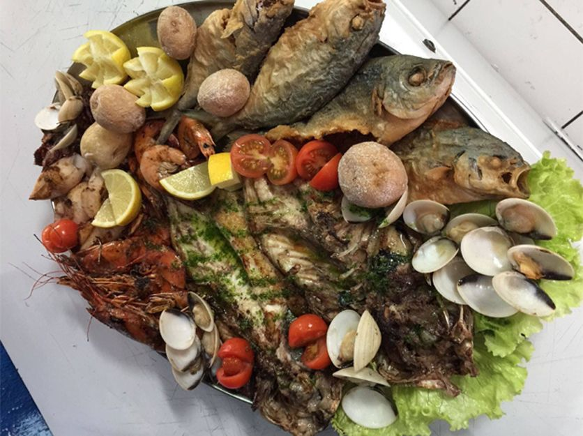 Restaurant specialising in sea food in Tenerife