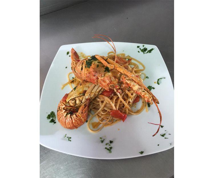Fish and sea food restaurant in Arona