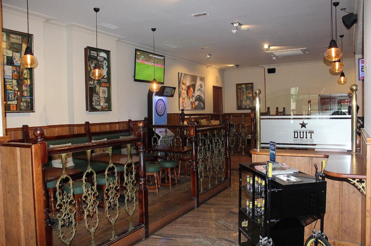 Interior de la Cervecería Duit