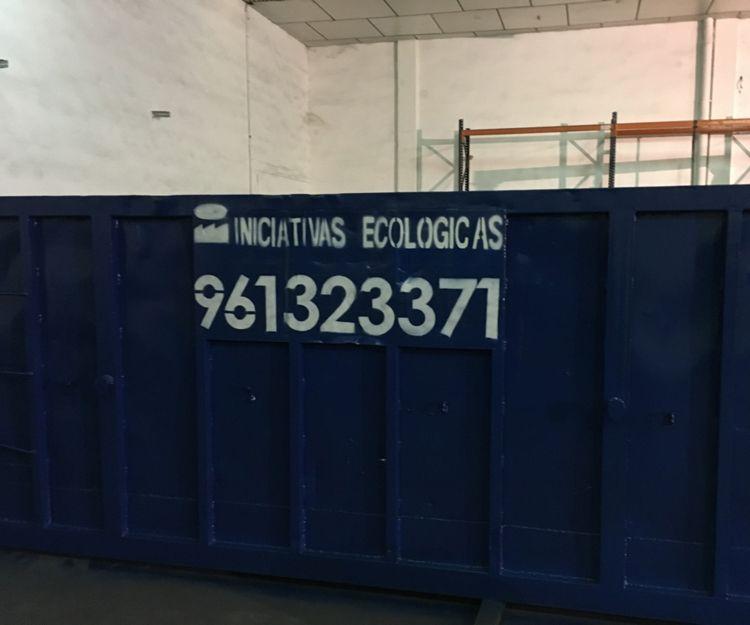 Contenedores para compostaje en Valencia