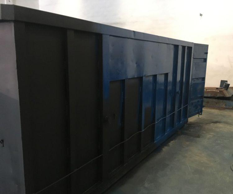 Fábrica de contenedores en Valencia