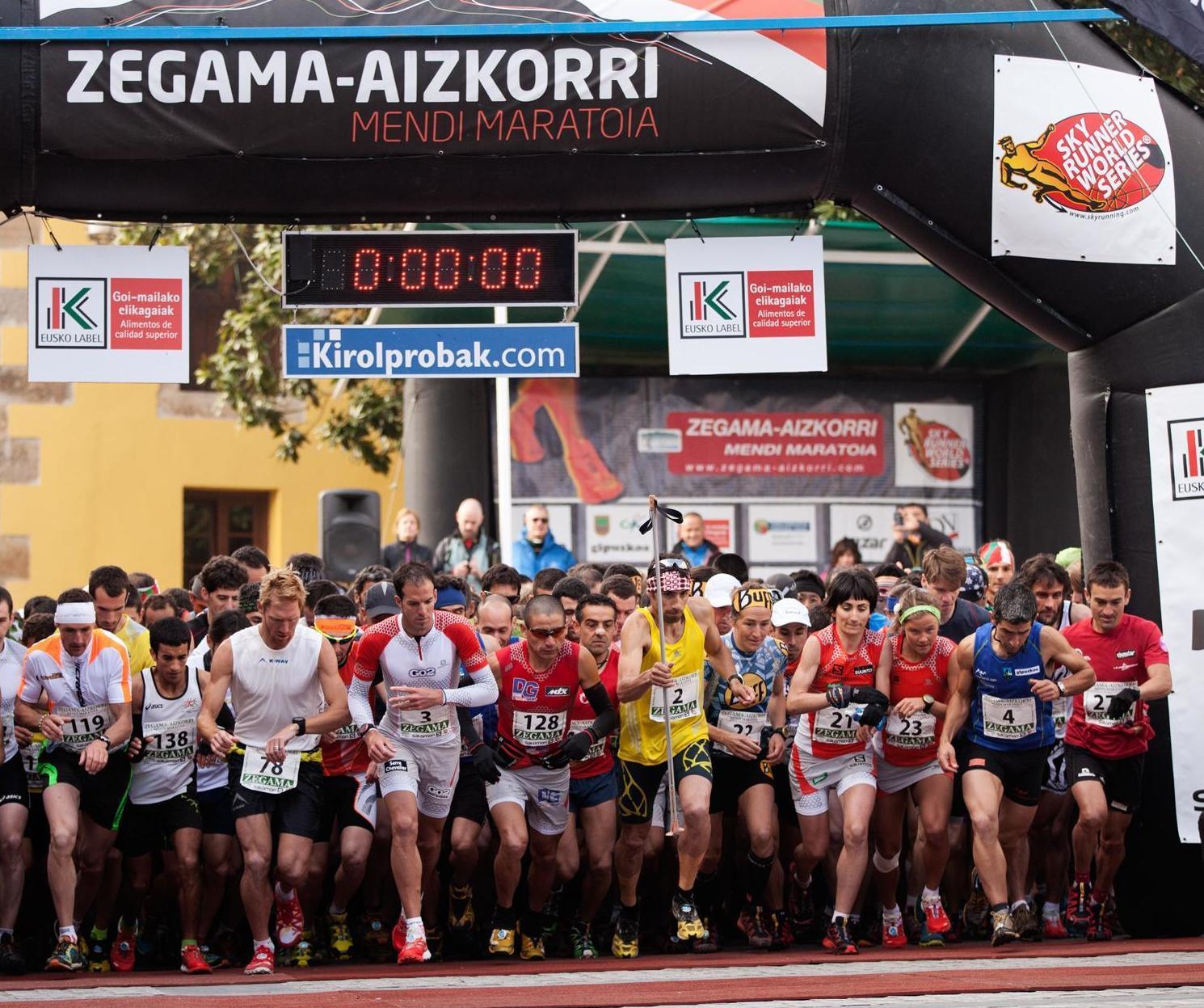 Maratón alpina Zegama-Aizkorri - 17 MAYO